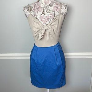 H + M Blue Khaki Dress 2